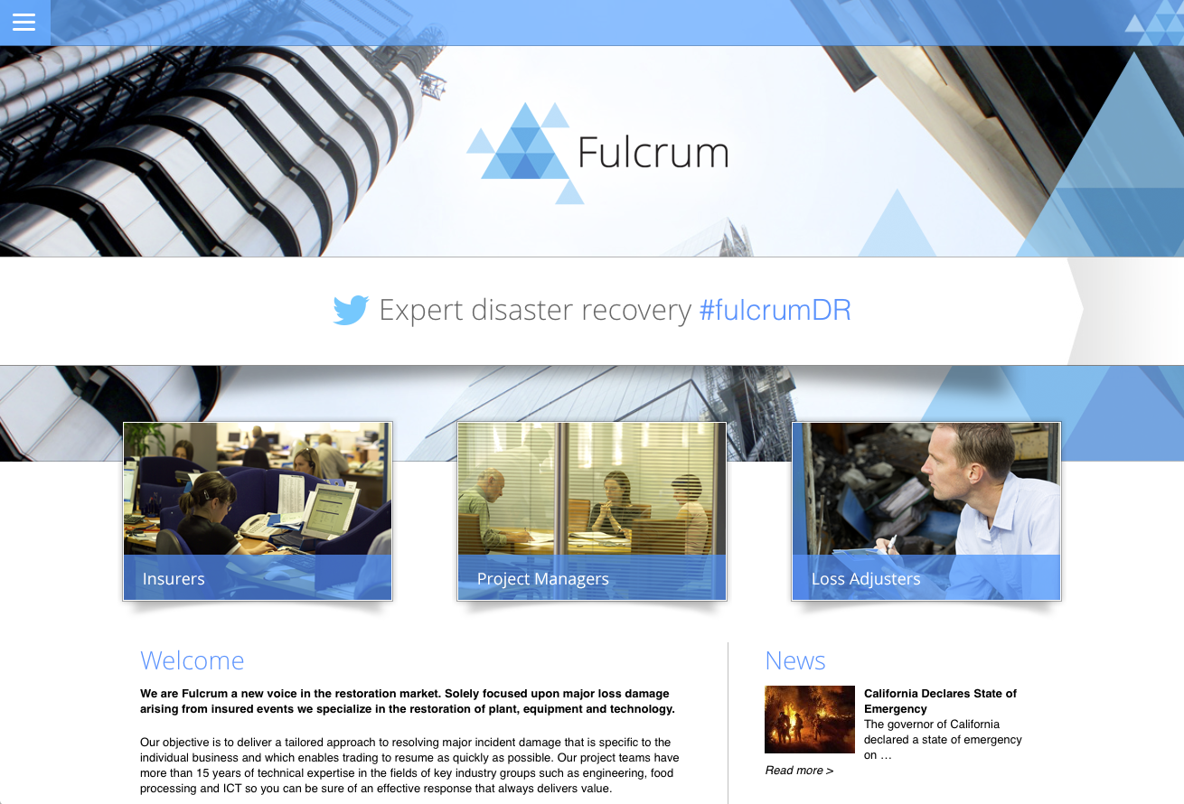 Website – Fulcrum