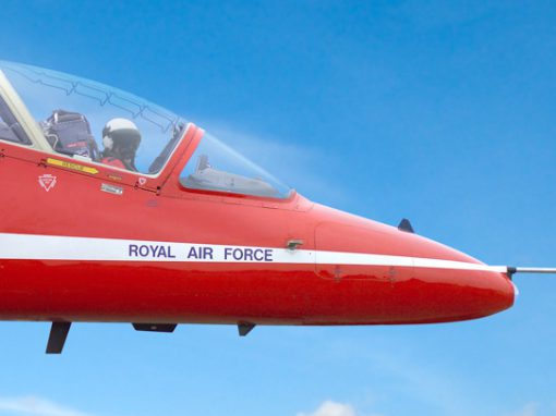 Mobile rig design, photography & artwork – The Red Arrows